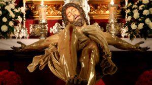 La Hermandad de la Trinidad realiza hoy, Miércoles de Ceniza, el tradicional Vía Crucis del Cristo de las Cinco Llagas/Hdad de la Trinidad