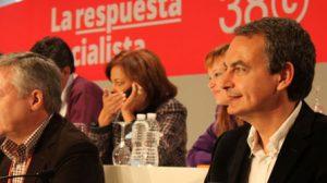 Rodríguez Zapatero se ha despedido hoy como secretario general en el 38 Congreso Federal/JC Romero
