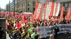 La manifestación ha recorrido las calles del centro de la ciudad/SA
