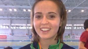 La joven nadadora Marta Galián podrá viajar a Londres/SA