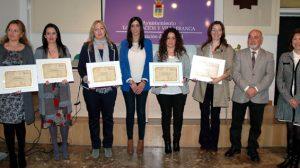 El Ayuntamiento ha distinguido esta mañana a las mujeres empresarias del municipio/SA