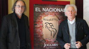 Albert Boadella en la presentación de 'El Nacional'