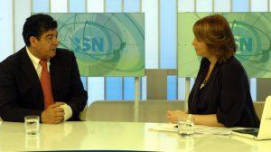 Valderas ha concedido esta mañana una entrevista a Canal Sur/SA