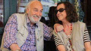 Héctor Alterio y Julieta Serra en 'La sonrisa etrusca'/Paula Romero