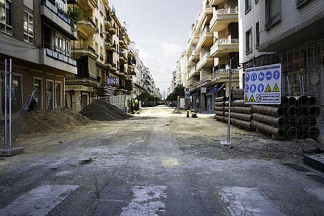 La calle fue peatonalizada recientemente/Imagen de archivo