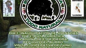 Cartel de las Jornadas Ecotur./La Roda de Andalucía