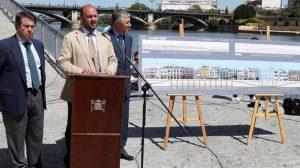 Pérez y Serrano presentaron el proyecto para Triana a finales de mayo/SA