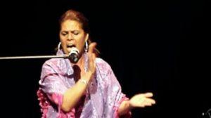 La cantaora Aurora Vargas en una actuación /LaBienal