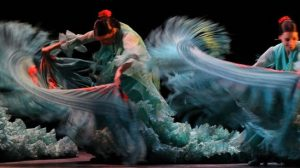 Interpretación del elenco femenino del Ballet Flamenco de Andalucía/LaBienal