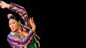 Manuela Carrasco durante una actuación/Bienal de Flamenco