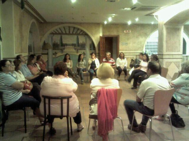Momento del encierro de los trabajadores de la RTL de Punta Umbría/Facebook 'Reubicados Encerrados RTL Punta Umbría'