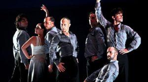 Un momento del espectáculo en el que se homenajea a Mario Maya /Antonio Acedo
