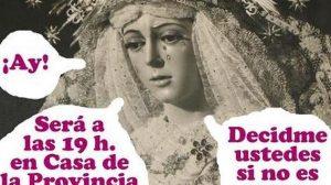 El cartel de presentación de la revista