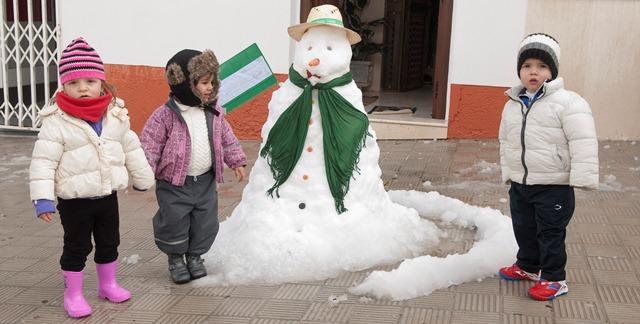 Estepa celebra el día de Andalucía con una estampa 'navideña' / Sevilla Actualidad