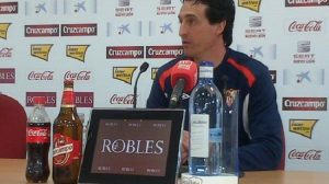 Unai Emery confía en ganar al Zaragoza para progresar en Liga / SEVILLA F.C.