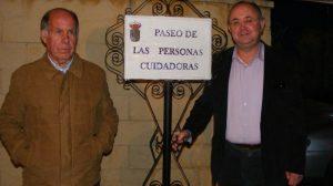 Gines ha inaugurado el Paseo de las Personas Cuidadoras en honor a dicho colectivo./ Prensa Ayuntamiento de Gines
