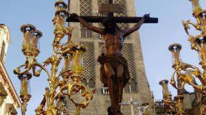 El crucificado de la hermandad de Los Javieres / flickr - Sito-betis