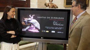Eva Yerbabuena y el alcalde de Sevilla, Juan Ignacio Zoido, han presentado el espectáculo./ Prensa ICAS