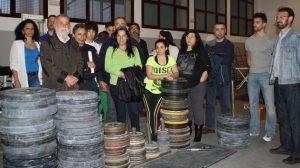 Torrijos cree que el IMD está realizando políticas privatizadoras en materia deportiva./Izquierda Unida