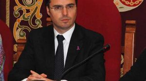 El alcalde socialista de Coria del Río, José Vicente Franco