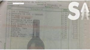 Sevilla Actualidad ha tenido acceso a la factura del PP Andaluz fechada en junio de 2008 y abonada por el Ayuntamiento de Tomares / Sevilla Actualidad