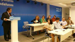"""Bueno ha llamado a """"la confianza en las medidas del Gobierno de Rajoy""""./PP"""