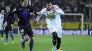 Entre lesiones y sanciones, Reyes se va a quedar sin disputar los cinco últimos partidos de la temporada. / SEVILLA F.C.