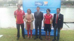 Noé Guzmán, María del Mar Sánchez, Nacho Rodríguez, Nuria Domínguez y Fernando Climent/Carlos Álvarez