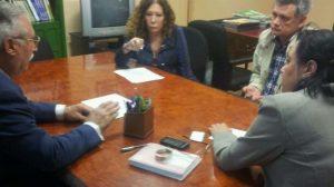 A la reunión ha asistido Juan Ortega, el que fuera delegado municipal de deportes del Consistorio hispalense./PA