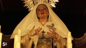 La imagen de la Virgen de la Amargura es obra del imaginero Antonio Eslava Rubio / Juan Carlos Romero