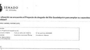 El PA ha hecho públicos algunas de las actividades que Antonio Gutiérrez Limones llevó a cabo como senador en Madrid / Sevilla Actualidad