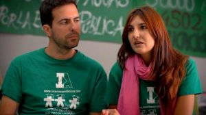 El colectivo de docentes andaluces puso fin al encierro en el IES Las Aguas para abordar el inicio de la negociación con la Consejería de Educación / Sevilla Actualidad