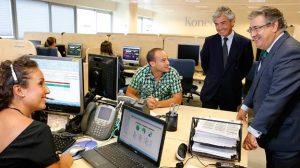 El alcalde de Sevilla, Juan Ignacio Zoido, ha inaugurado las instalaciones de la empresa en el Parque Científico y Tecnológico de La Cartuja / Sevilla Actualidad