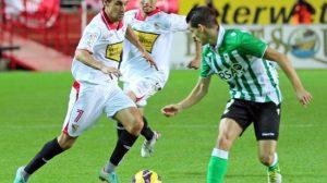 Jesús Navas jugó ante el Valencia su último partido con la camiseta del Sevilla. / SEVILLA F.C.