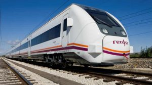 tren renfe exterior
