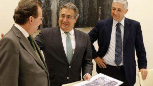 Zoido y De Llera abordaron el proyecto de la Ciudad de Justicia de Sevilla / Sevilla Actualidad