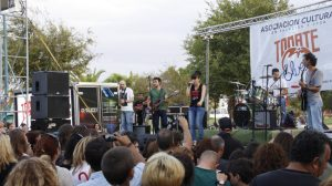Dina The Holy Band en el Tomate Blues 4
