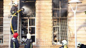 incendio archivo los palacios Francisco Amador
