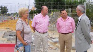 obras avenida europa gines