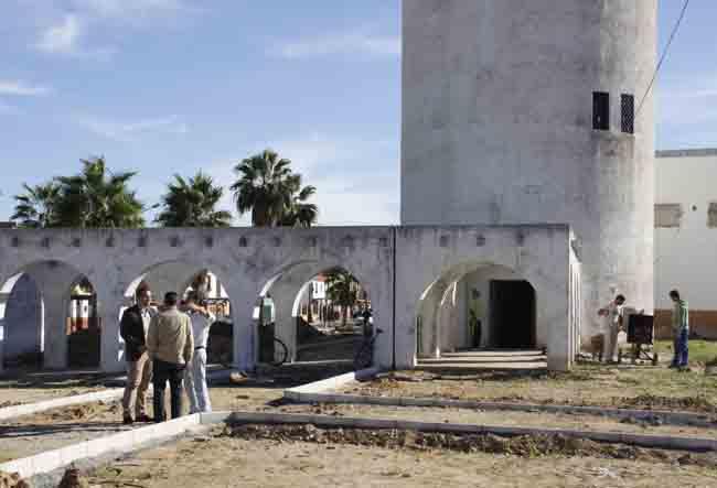 Construccion de la nueva Plaza del Agua 5 1