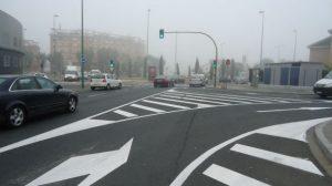Obras senalizacion Ronda Urbana Norte