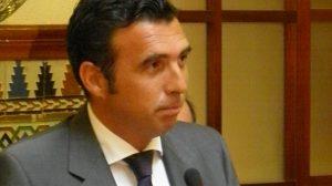 El hermano mayor de la Hermandad de Escardiel, Juan Lobo, en una imagen de archivo / Sevilla Actualidad