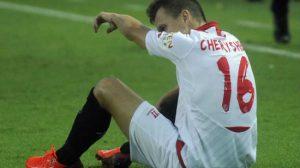 Cheryshev lesion