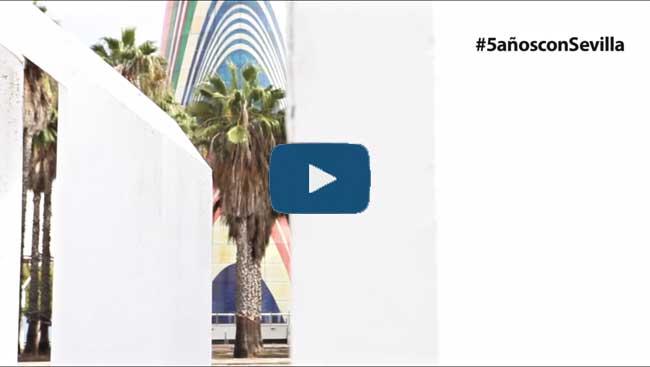 Frame del vídeo promocional de la gala #5AñosconSevilla del próximo 3 de junio/SA
