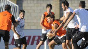 Entrenamiento Sevilla 2014-2015