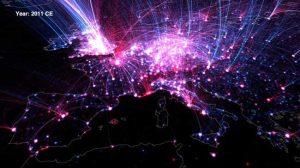 Imagen del mapa en el último año estudiado/SINC