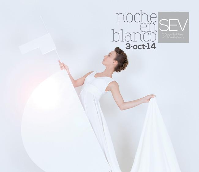 La estética 'white cube' llega al Giraldillo, para anunciar la Noche en Blanco 2014
