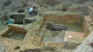 hallazgo piscina romana en Carmona