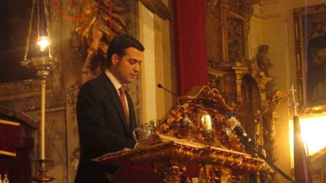 pregonero2015-lutgardo-garcia-diaz-exaltacion-eucaristia-hermandad-cena