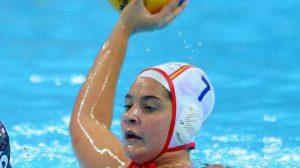 Lorena Miranda con el equipo nacional